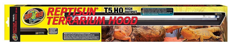 Zoo Med T5 HO Reptisun Terrarium Hood